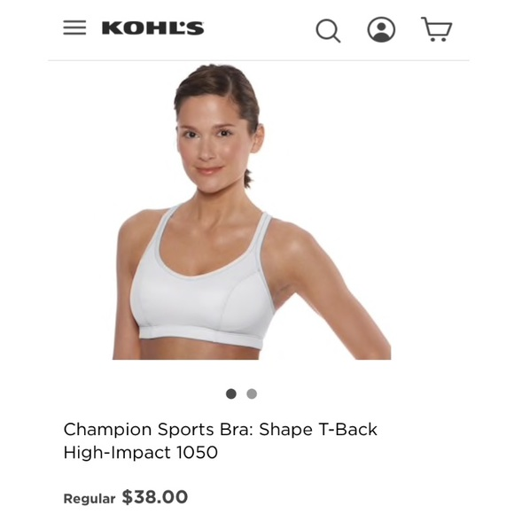 28fc6e42d9bf8 Champion Other - Champion high impact white sports bra
